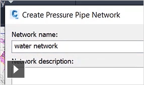 Video: Streamlined pressure network layout and editing