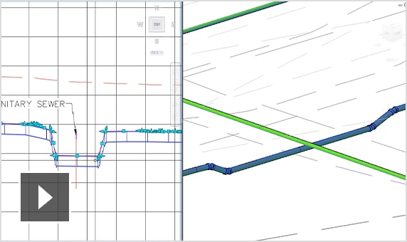 Video: Enhancements to pressure network capabilities with Civil 3D
