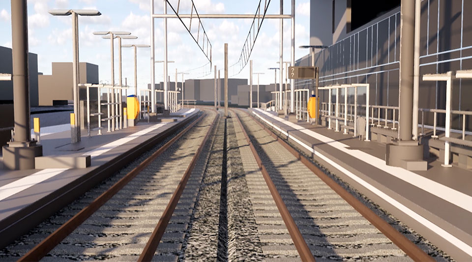 Video: Arcadis used design automation to deliver a large light rail renovation project in record time