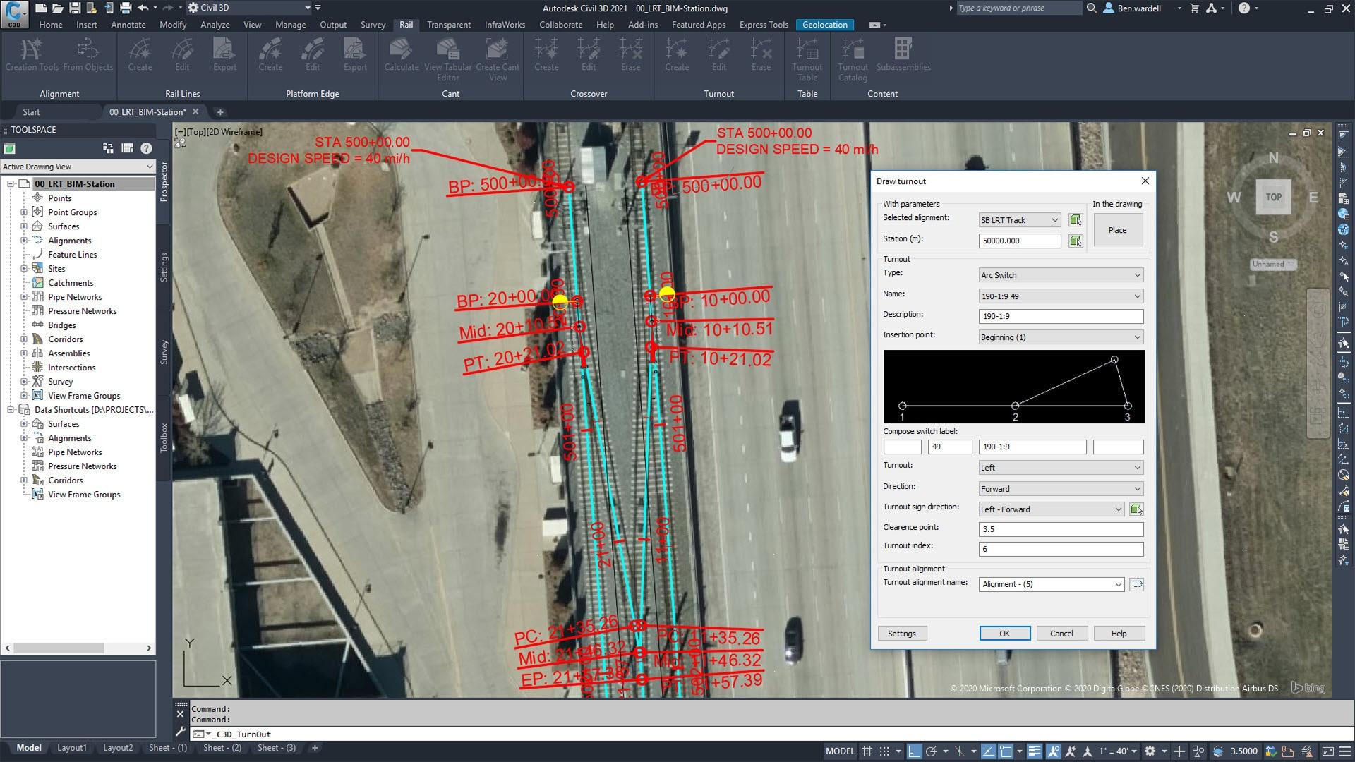 Rail Design Software Civil 3d Autodesk Official