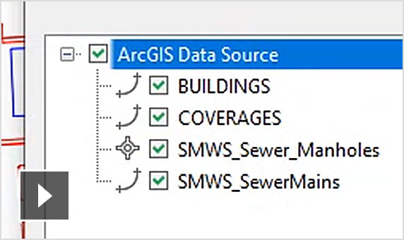 Video: Having rich GIS data via the Connector for ArcGIS helps civil engineers make better design decisions