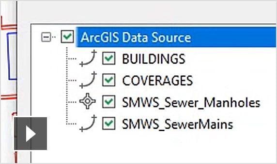 동영상: 토목 엔지니어는 Connector for ArcGIS를 통해 충분한 GIS 데이터를 확보하여 더 나은 설계 결정을 내릴 수 있습니다.