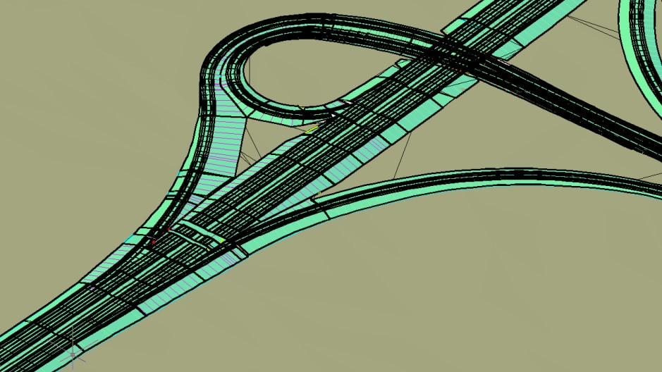 Corridor modelling for civil and corridor design