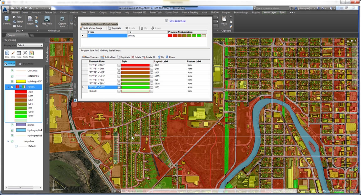 Geospatial and water analysis tools