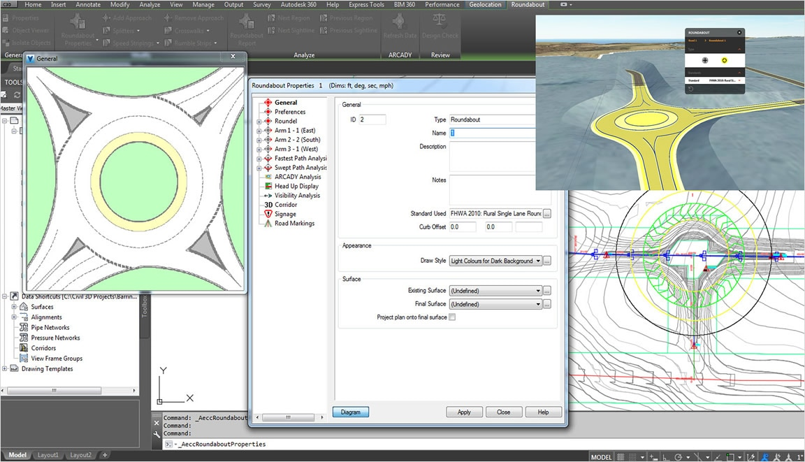 Civil 3D   Software para ingeniería civil   Autodesk