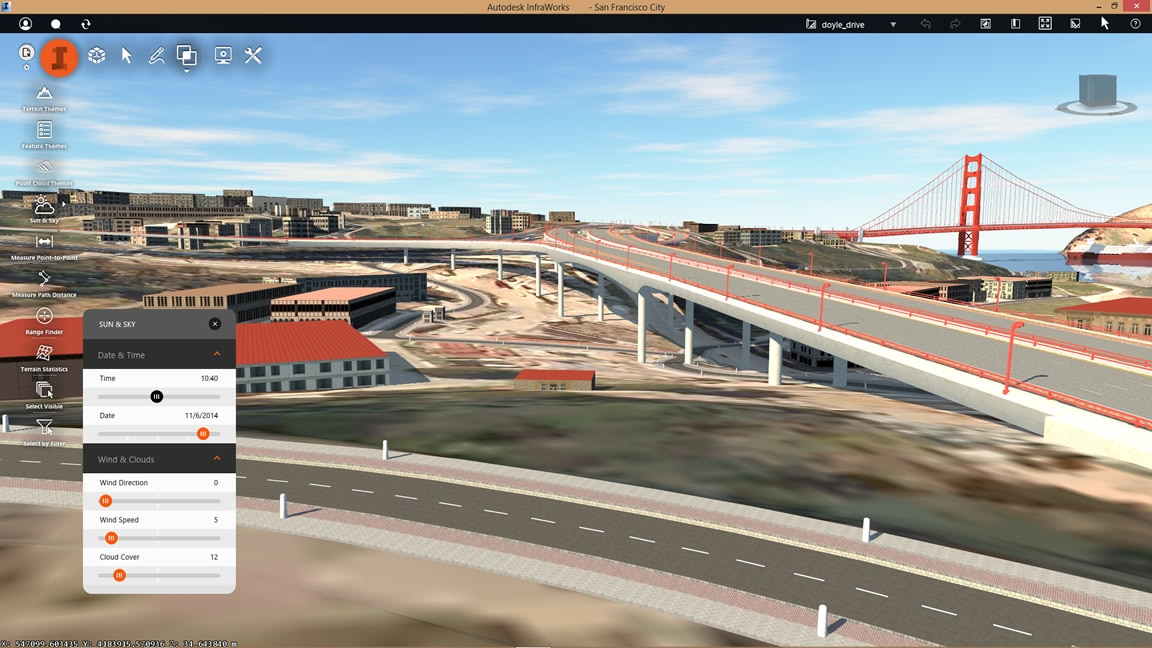Civil design tools interoperate with InfraWorks 360
