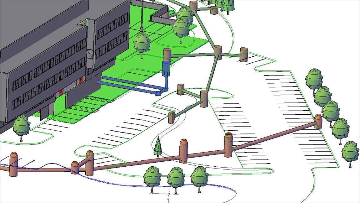 Rules-based tools for storm and drainage networks