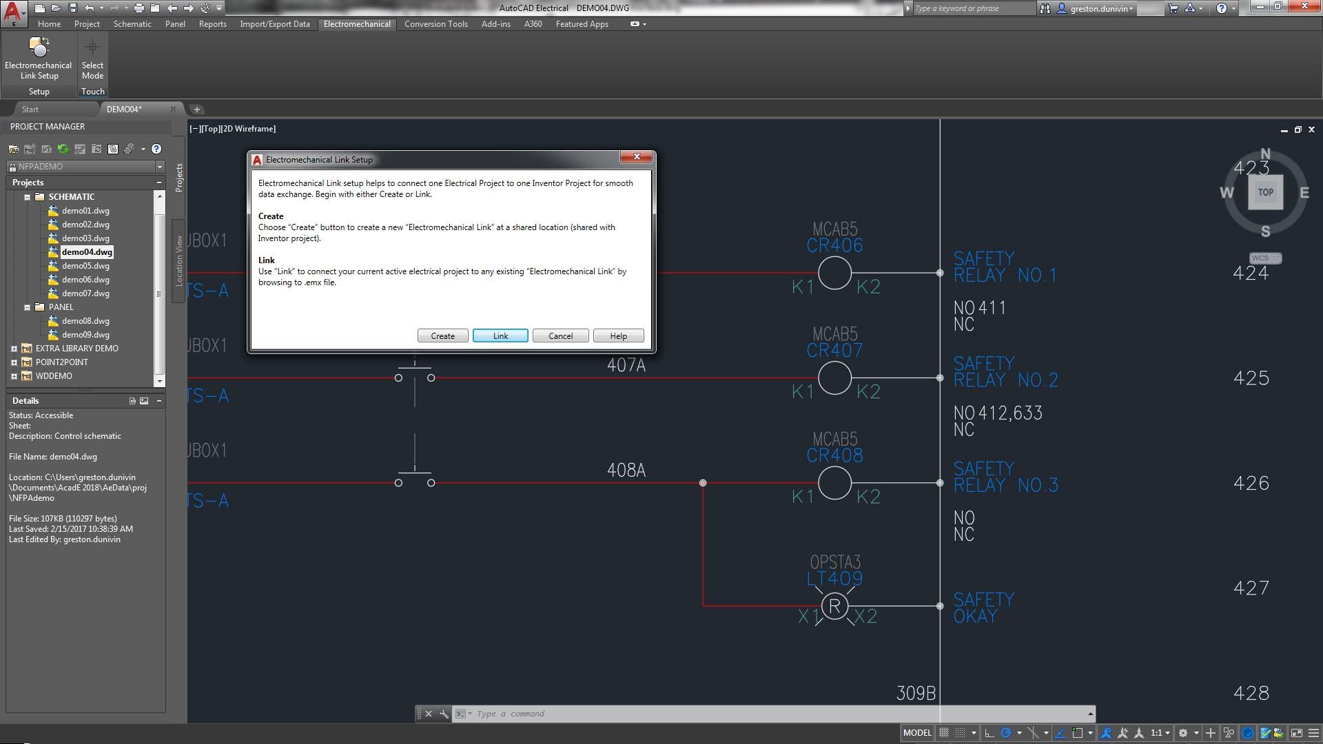 Autocad Electrical Toolset Software F 252 R Die Elektroplanung