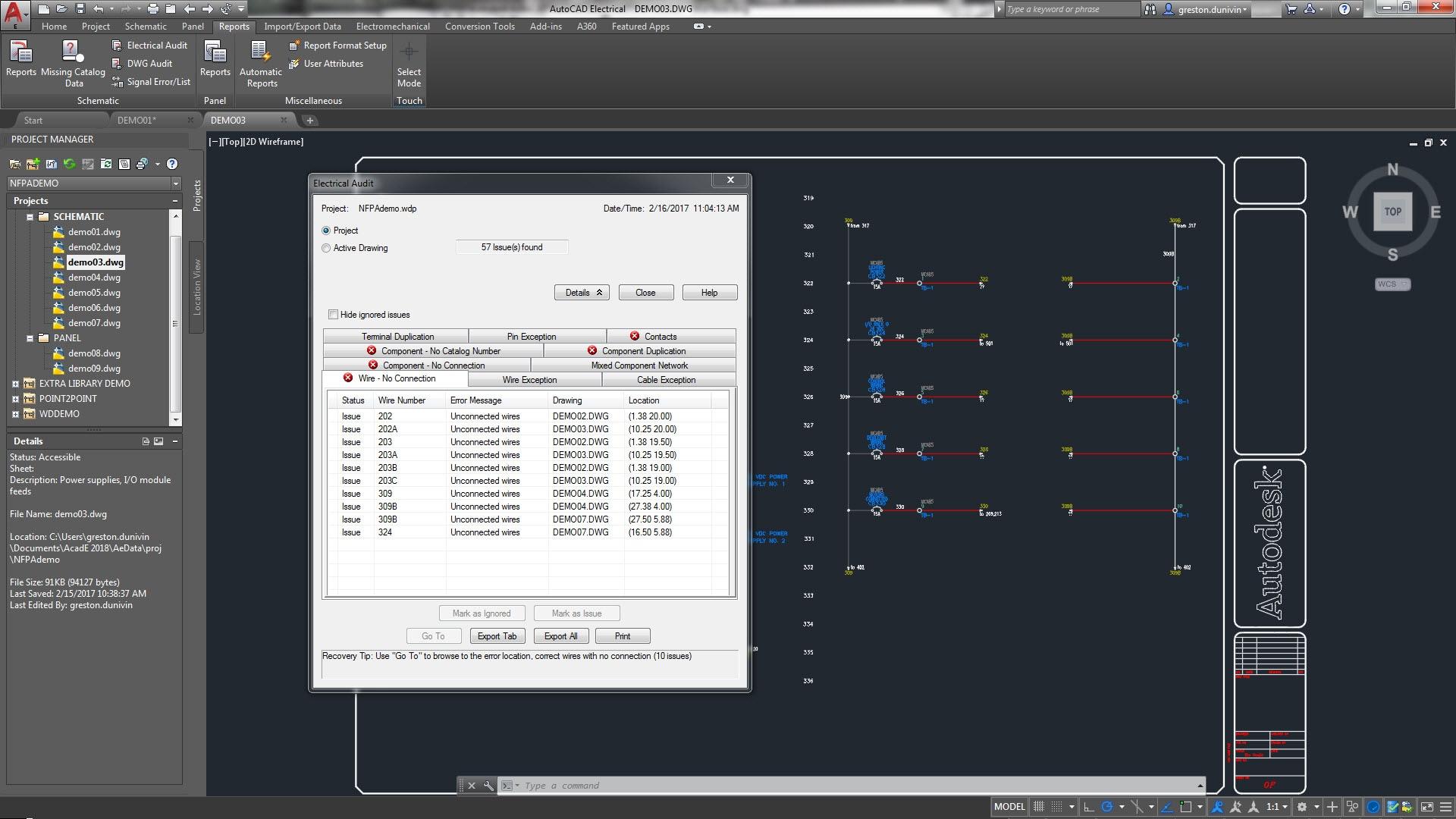 Conjunto de herramientas AutoCAD Electrical | Software de diseño ...