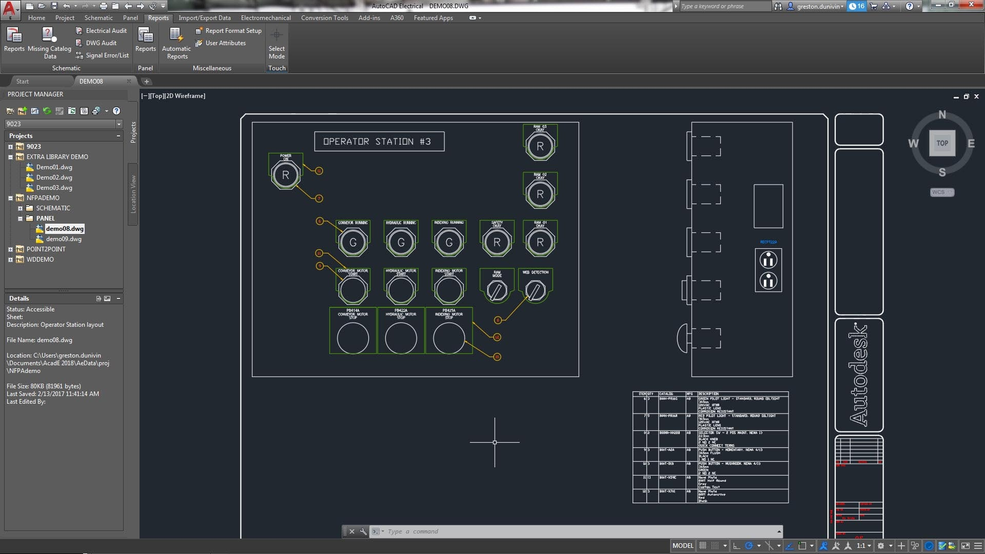 Autocad Electrical Drawing Software
