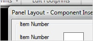 Panel Layout tool: Insert components into drawings