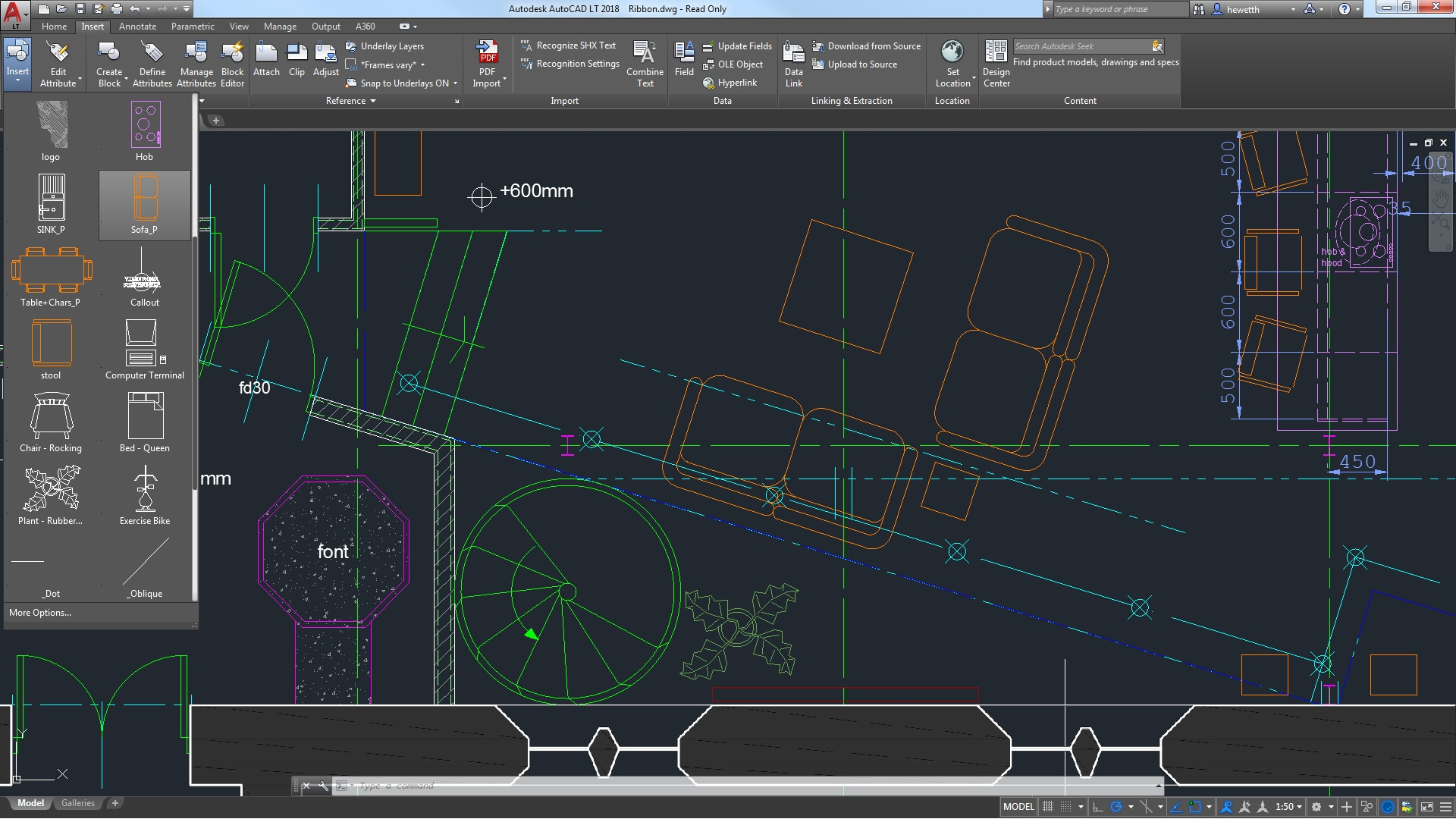 What s new in autocad lt 2019 features autodesk for Pdf a cad