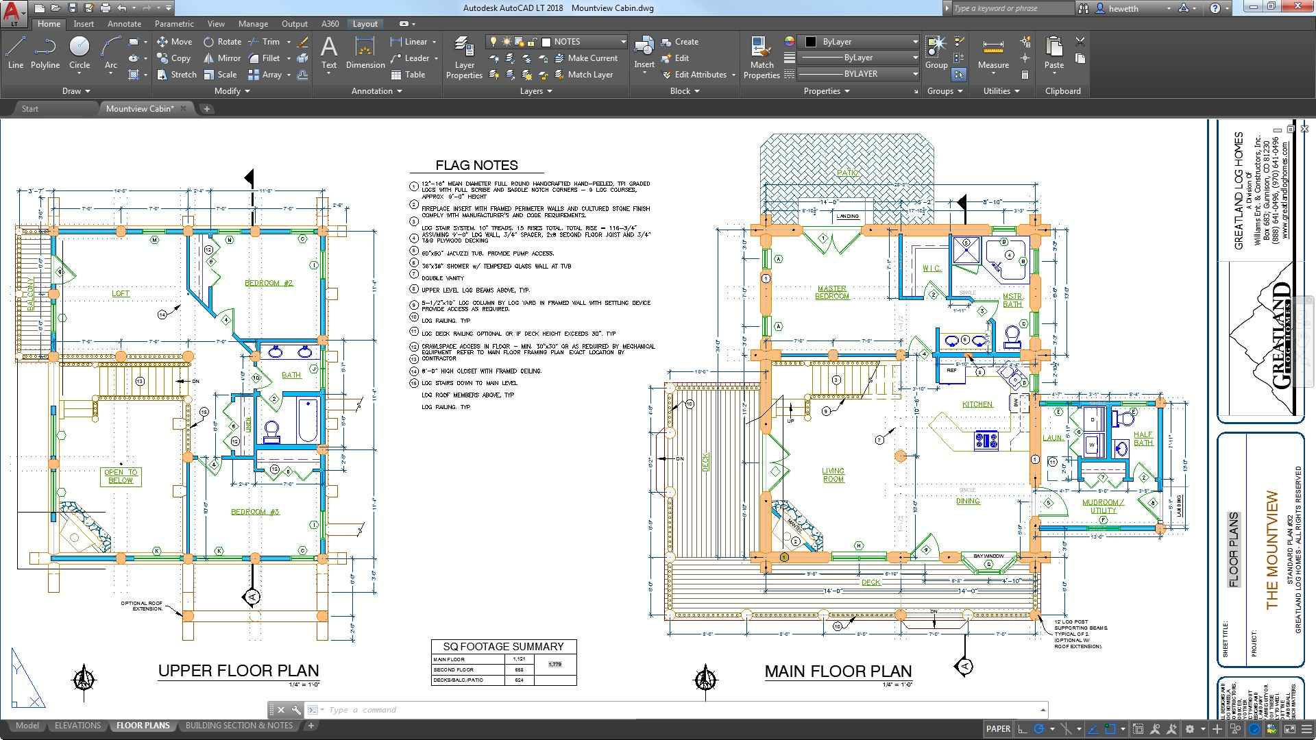 Autocad lt 2d drafting drawing software autodesk for Cad blueprints