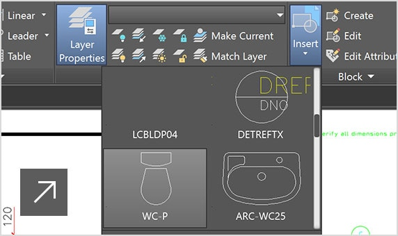 Flat-design icons and 4K enhancements in AutoCAD LT 2019