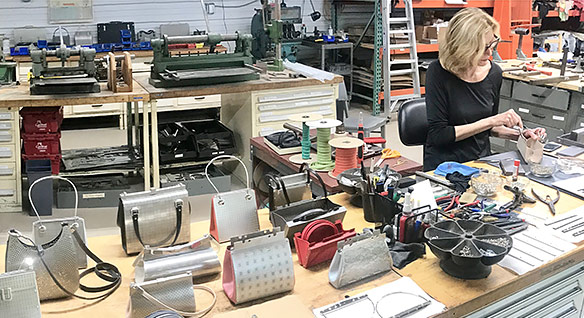 Wendy Stevens rebuilds metal purse collection with AutoCAD LT