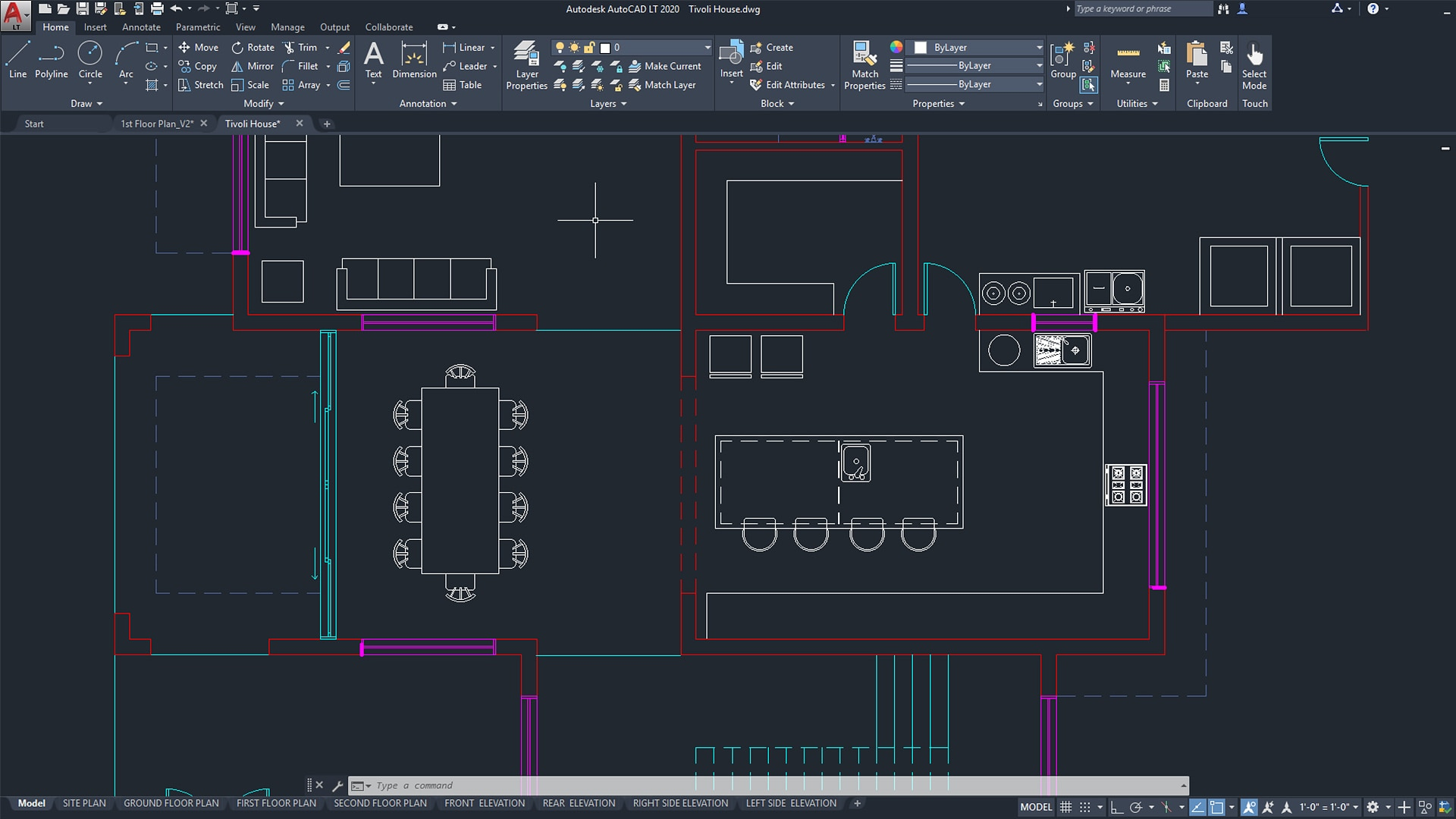 Stupendous Autocad Lt 2D Drafting Drawing Software Autodesk Interior Design Ideas Grebswwsoteloinfo