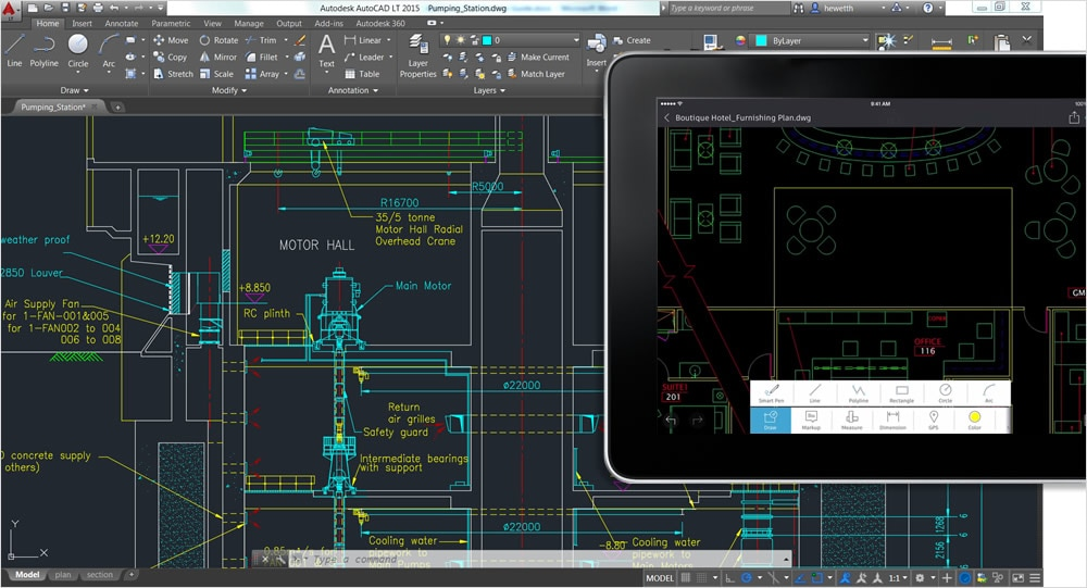 AutoCAD 360 Pro is the official AutoCAD mobile app, now included with your subscription.