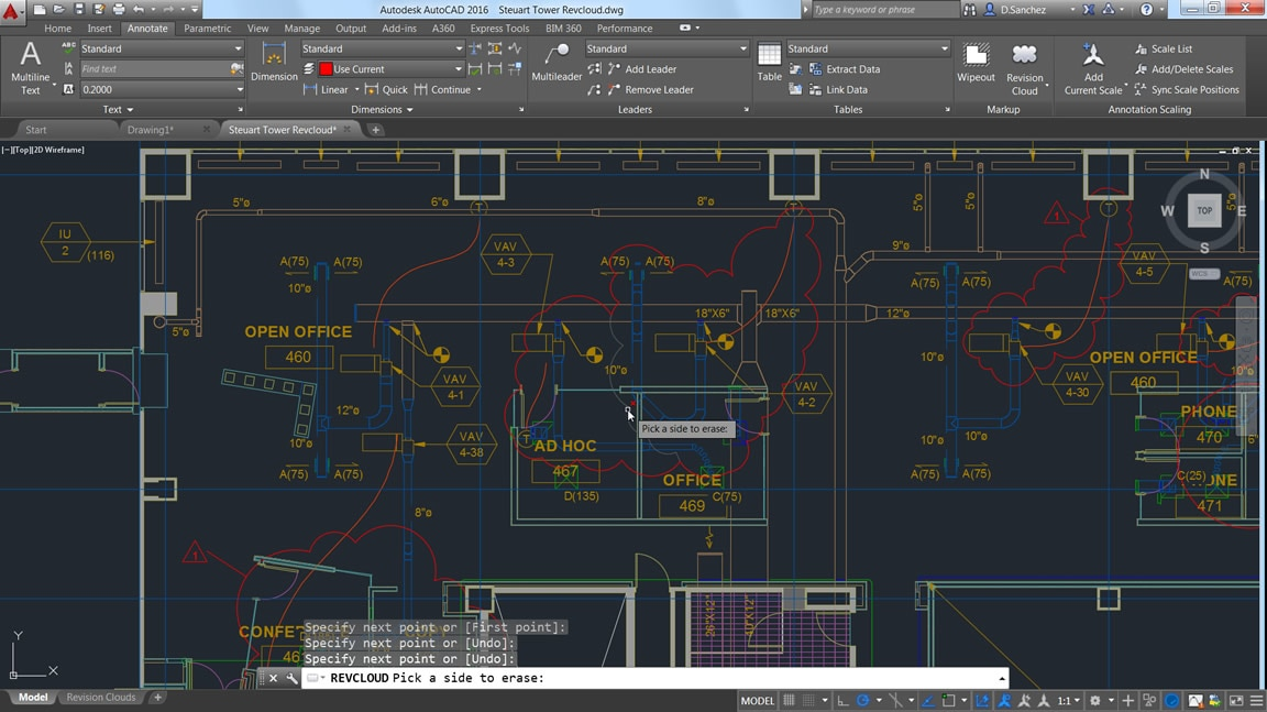 Create more flexible revision clouds with AutoCAD LT 2D CAD software
