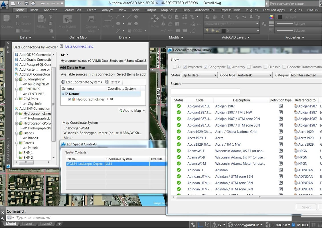 AutoCAD MAP 3D   3D GIS Mapping Software   Kanisco