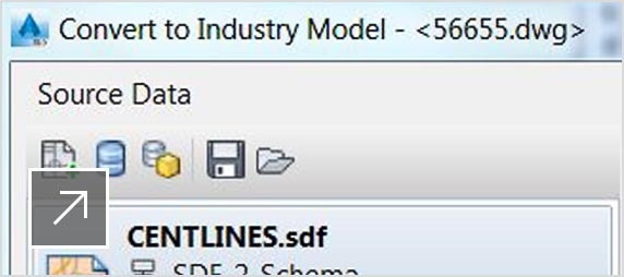 Convert GIS and CAD to industry models