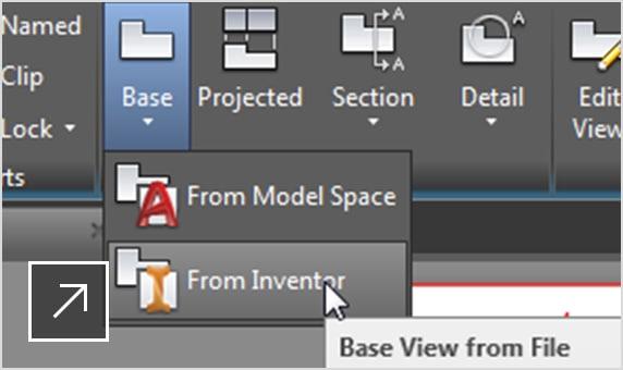 Inserite dettagli nei modelli nativi di parti e assiemi di Inventor.