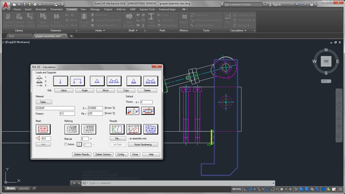 Autocad mechanical toolset mechanical design software for Autodesk online home design