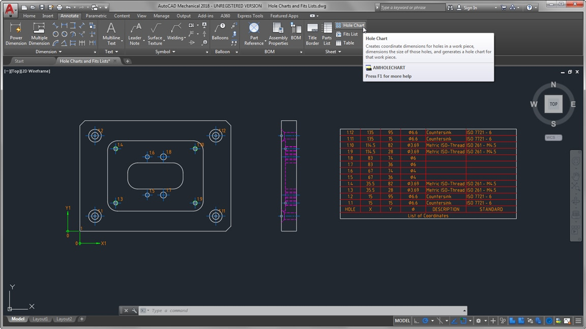 AutoCAD Mechanical-Toolset | Software für mechanische Konstruktion