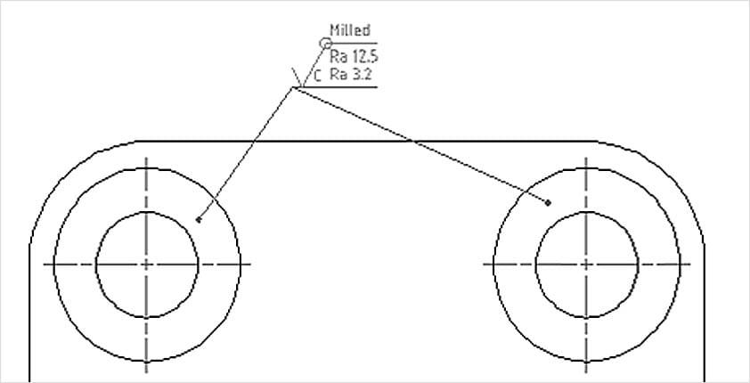 Funciones de dibujo mecánico   AutoCAD Mechanical 2016
