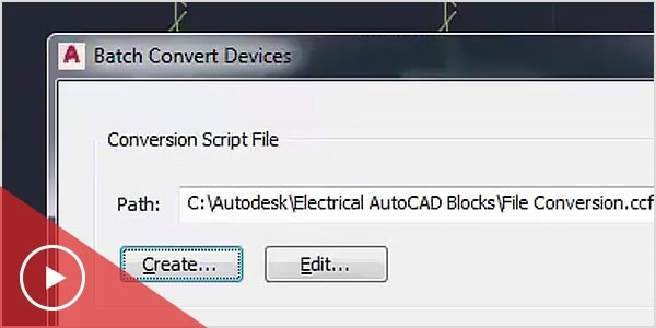 MEP software converts AutoCAD blocks