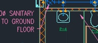 Work on flat 2D or geometric floor plans