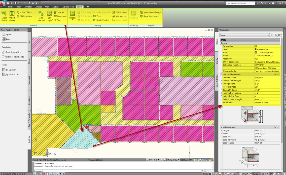 AutoCAD MEP full screenshot
