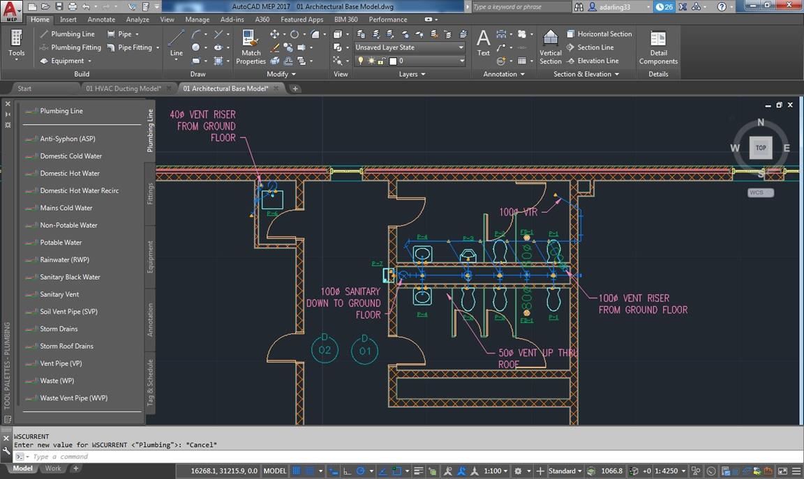 Поддерживается использование 2D-планов этажей из AutoCAD, а также архитектурных планов этажей из геометрической модели AutoCAD Architecture