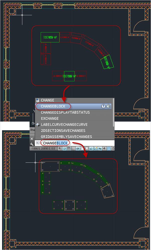 Utilisez l'échange de blocs pour modifier des composants à mesure que votre conception évolue