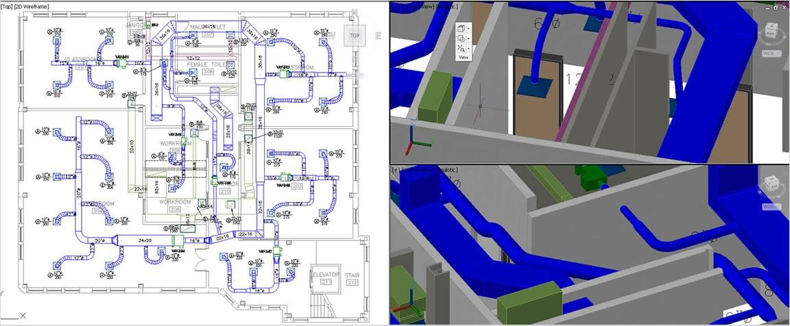 Erstellen, optimieren und dokumentieren Sie 2D-Ansichten mit verbesserten Dokumentationsfunktionen.