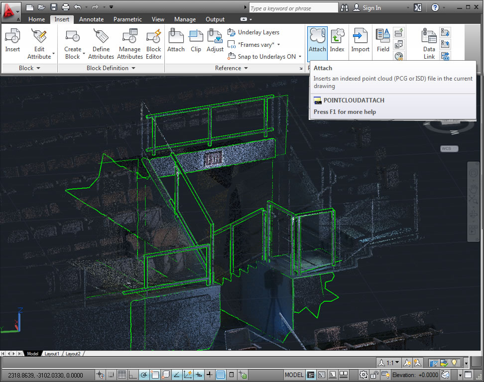 Use point cloud data for renovation projects, and save time and increase accuracy