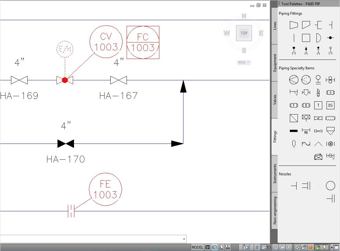 Piping Diagram Symbols Autocad
