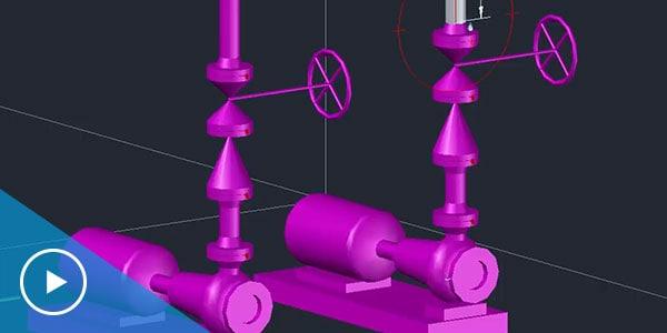 Vidéo : Conception P&ID AutoCAD Plant 3D