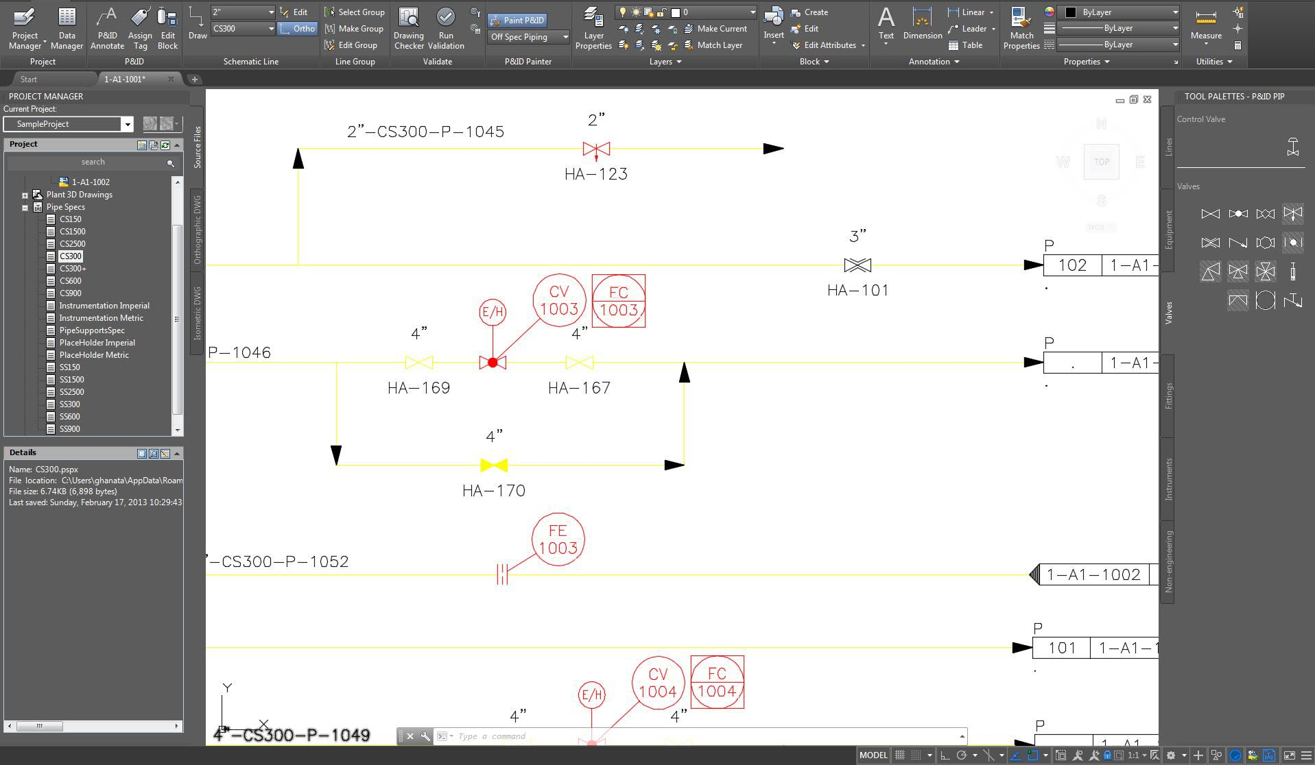 Autocad Plant 3d Toolset Design Software Piping Layout Rules Display Lines And Components In Colors By Property Value