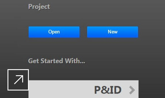 AutoCAD Plant 3D: project manager search