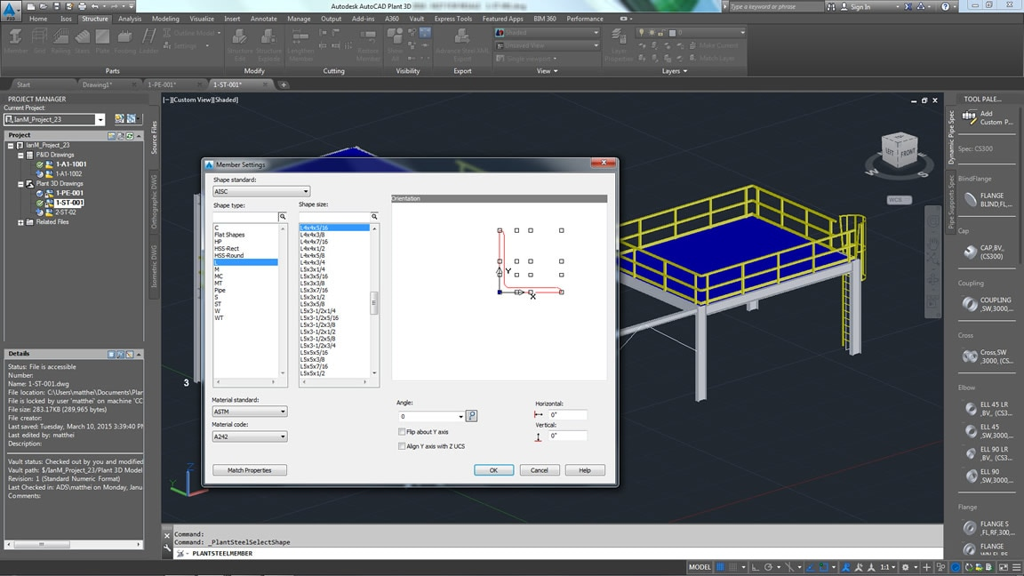 Autocad plant 3d 3d plant design software kanisco Home modeling software