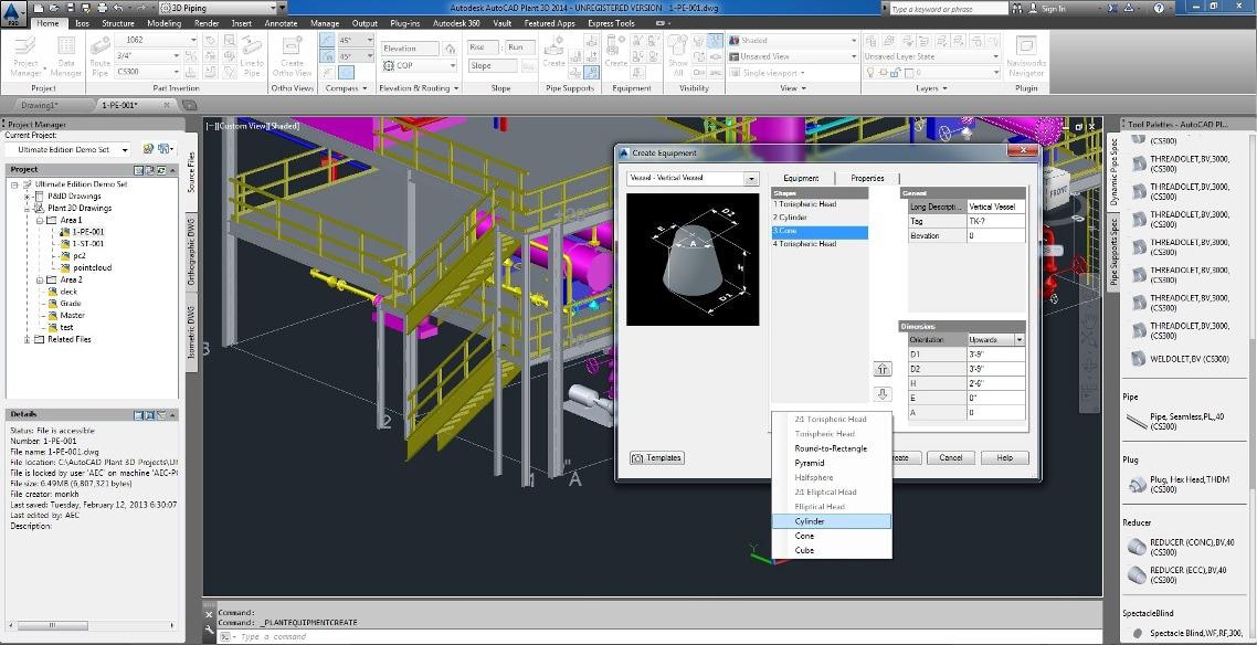 Autocad Plant 3d 3d Plant Design Software Autodesk