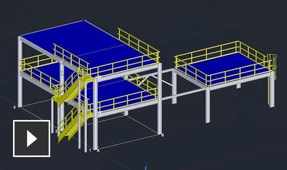 Autocad plant 3d 3d plant design software autodesk for Plante 3d dwg