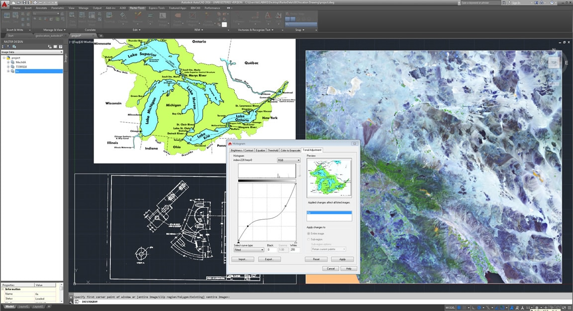 Autocad Raster Design Raster To Vector Software Autodesk