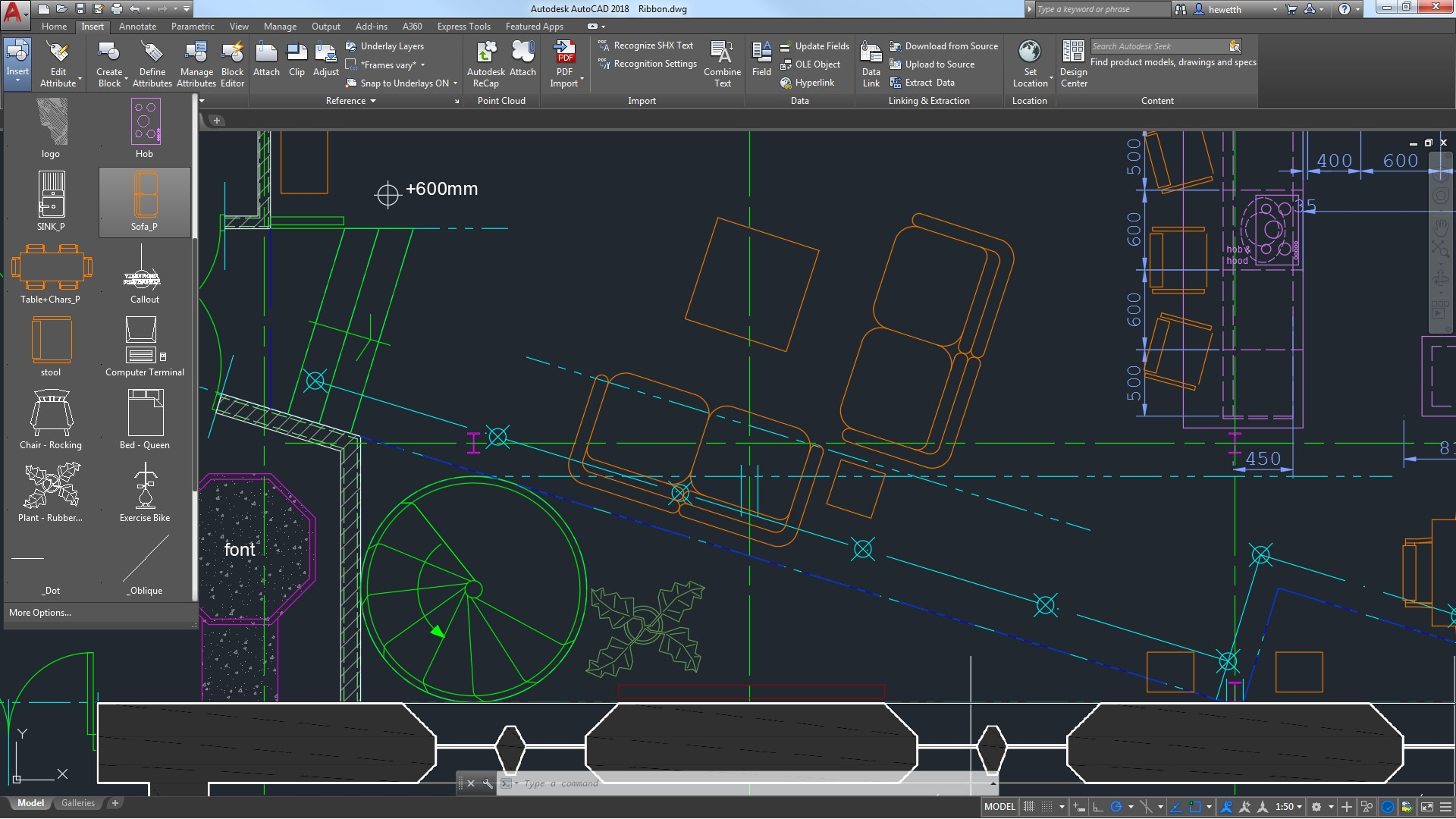 Access Your Favorite Tools Easily When You Need Them With The Autocad  Ribbon