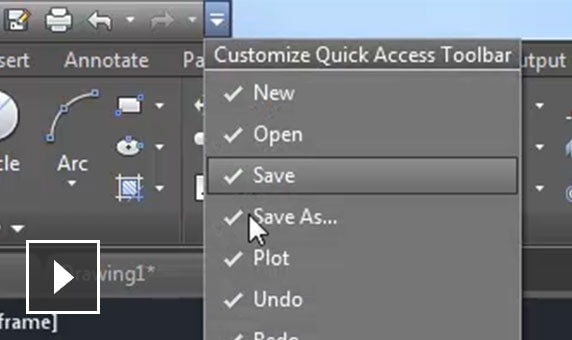 Video: Work intuitively with common dialog boxes and toolbars.