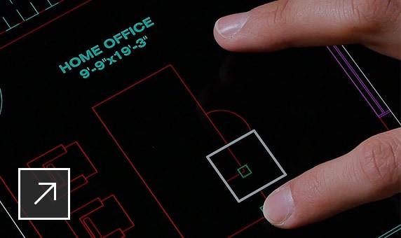 L'application mobile AutoCAD est un outil essentiel pour tirer parti d'une véritable CAO mobile