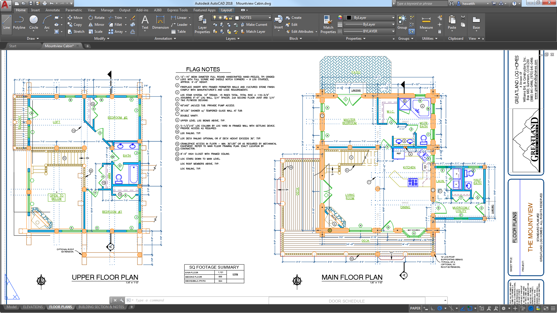 Autocad for mac windows cad software autodesk for Floor plan drafting services