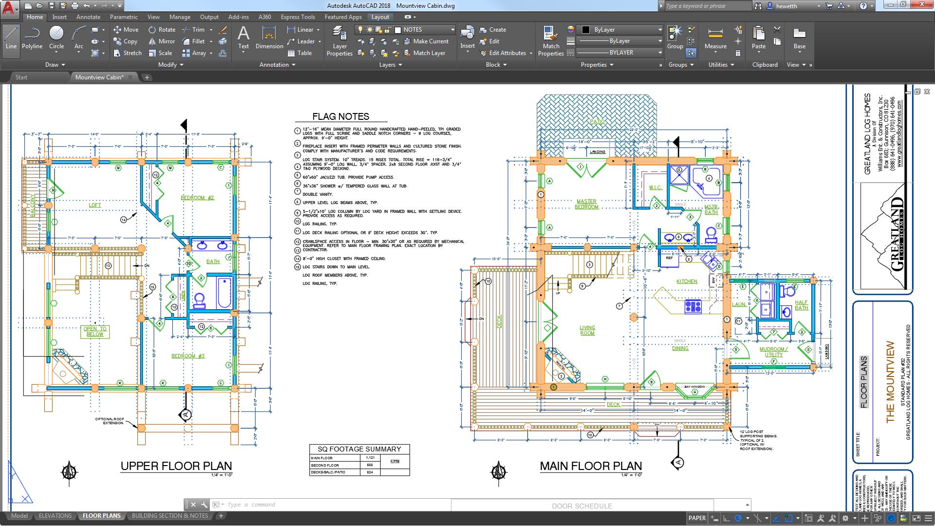 Autocad for mac y windows software cad autodesk for Programa planos 2d