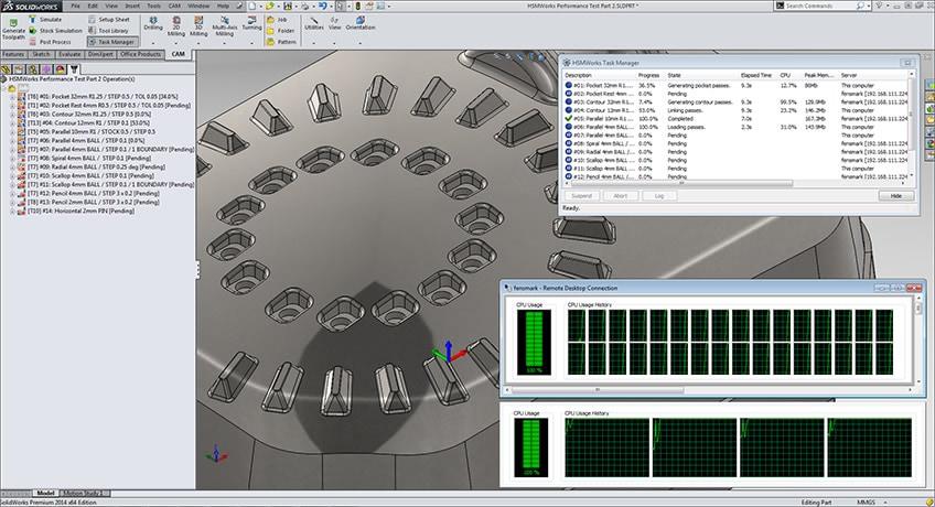 マルチ プロセッサとマルチコアをサポートするディストリビュート CAM です。