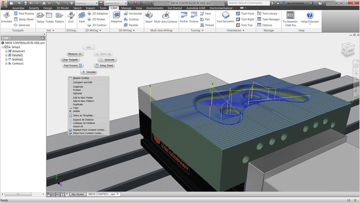 Inventor HSM 統合 CAD/CAM ソリューション